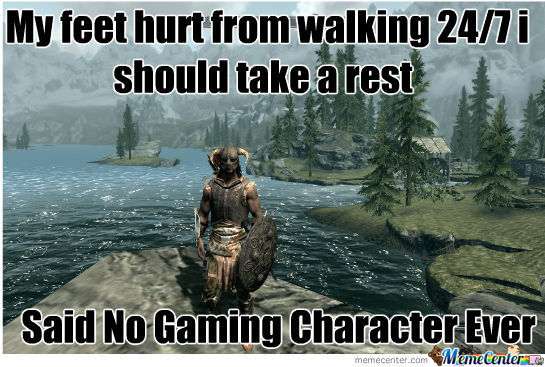 Walking In Videogames