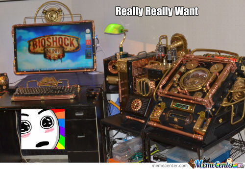 Want Lvl: Steampunk Pc