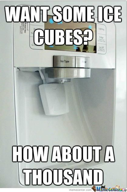 Want Some Icecubes