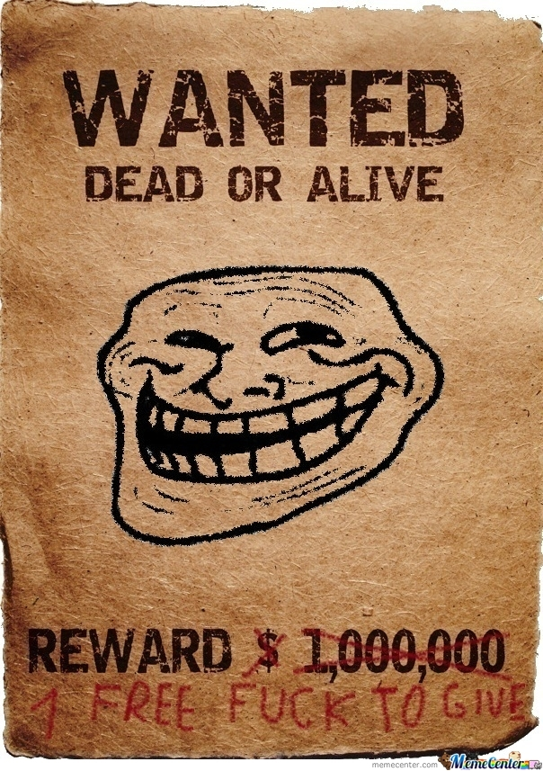 Funny reward poster template