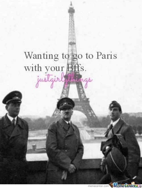Wanting To Go To Paris