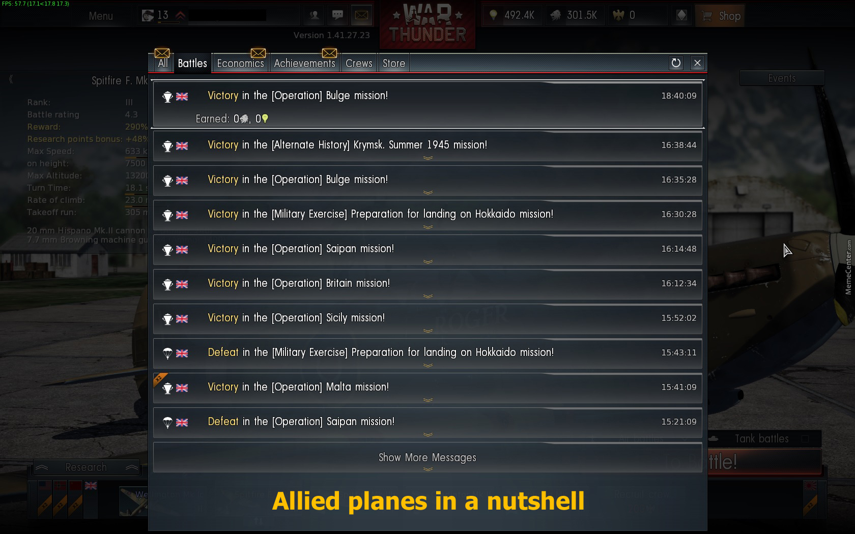 War thunder matchmaking tiers