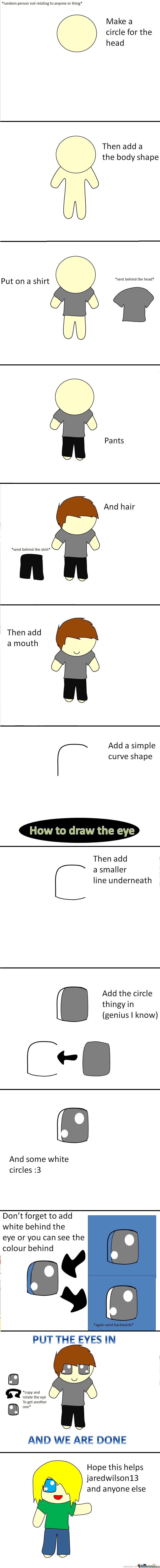 Warning Long Post Ahead About How To Draw (My Style) Skip If Not Intrested