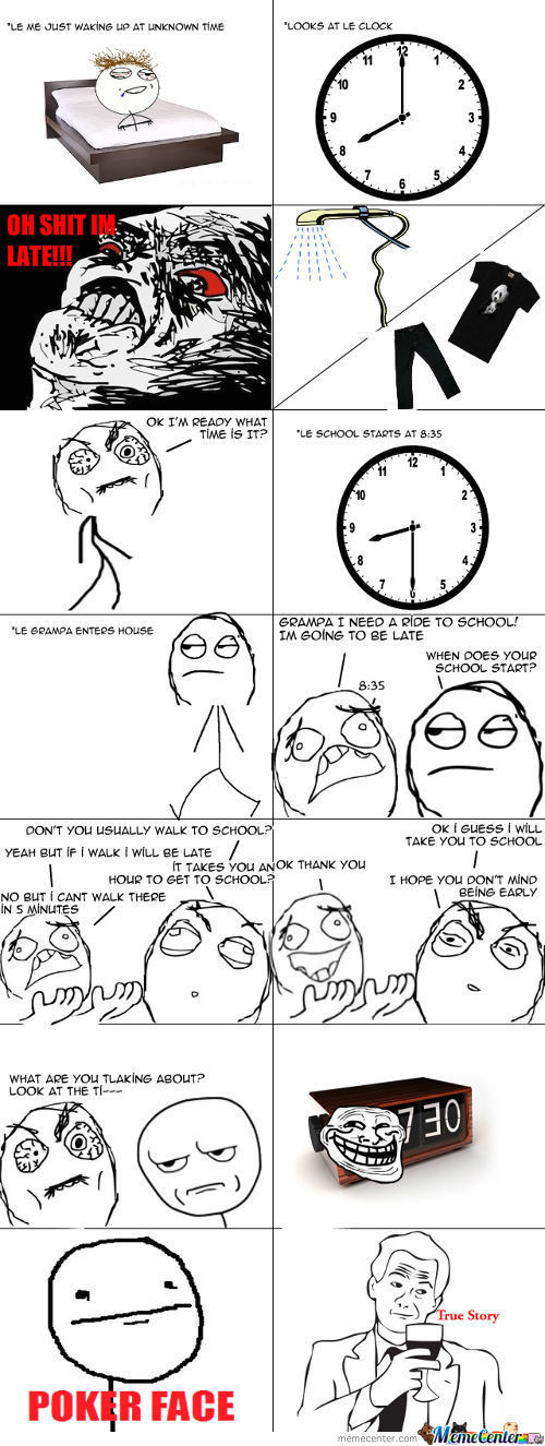 Was U Just Trolled By A Clock?