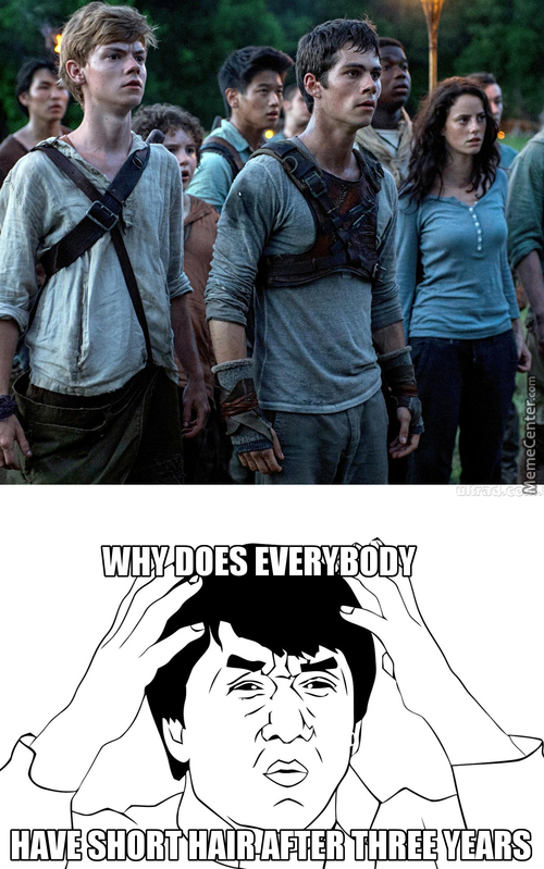 Was Watching The Maze Runner When I Suddenly Realised...