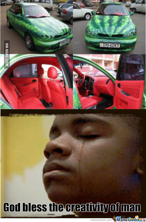 Watermelon Car, Deal With It