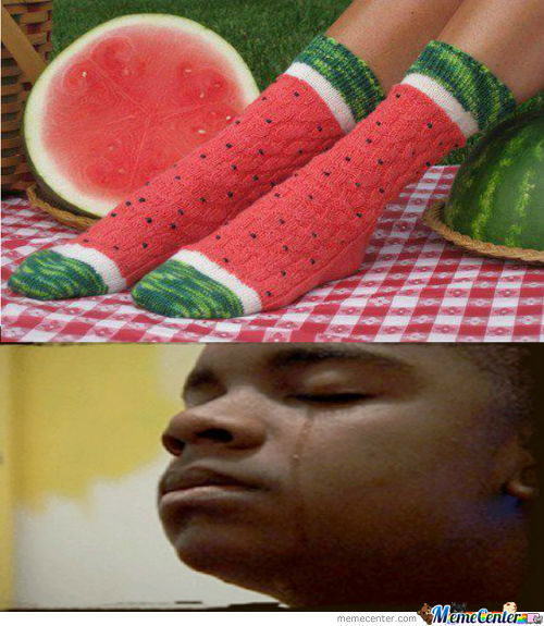 Watermelon Socks...