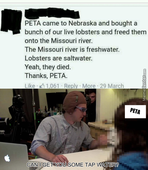 Way To Go Peta!