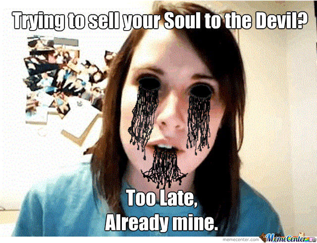 Way Too Overly Attached Girlfriend