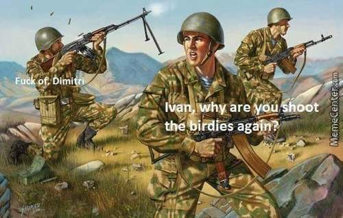 We All Got That One Guy In Our Army, Rigth?