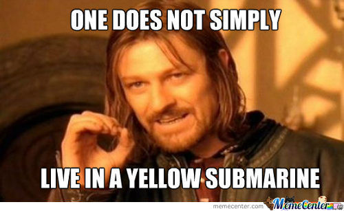 We All Live In A Yellow Subamrine!!!