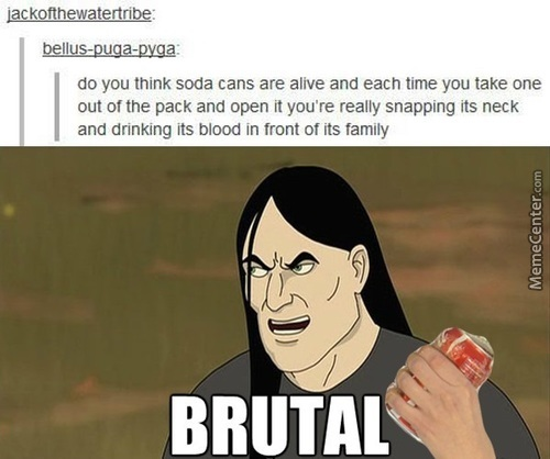 We Are All Soda Vampires