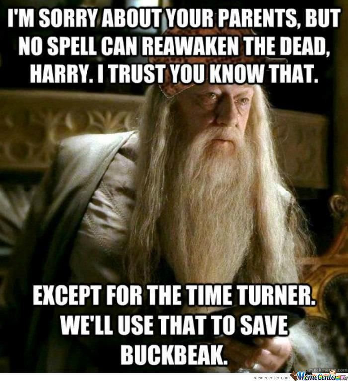 We Can Save Buckbeak But....