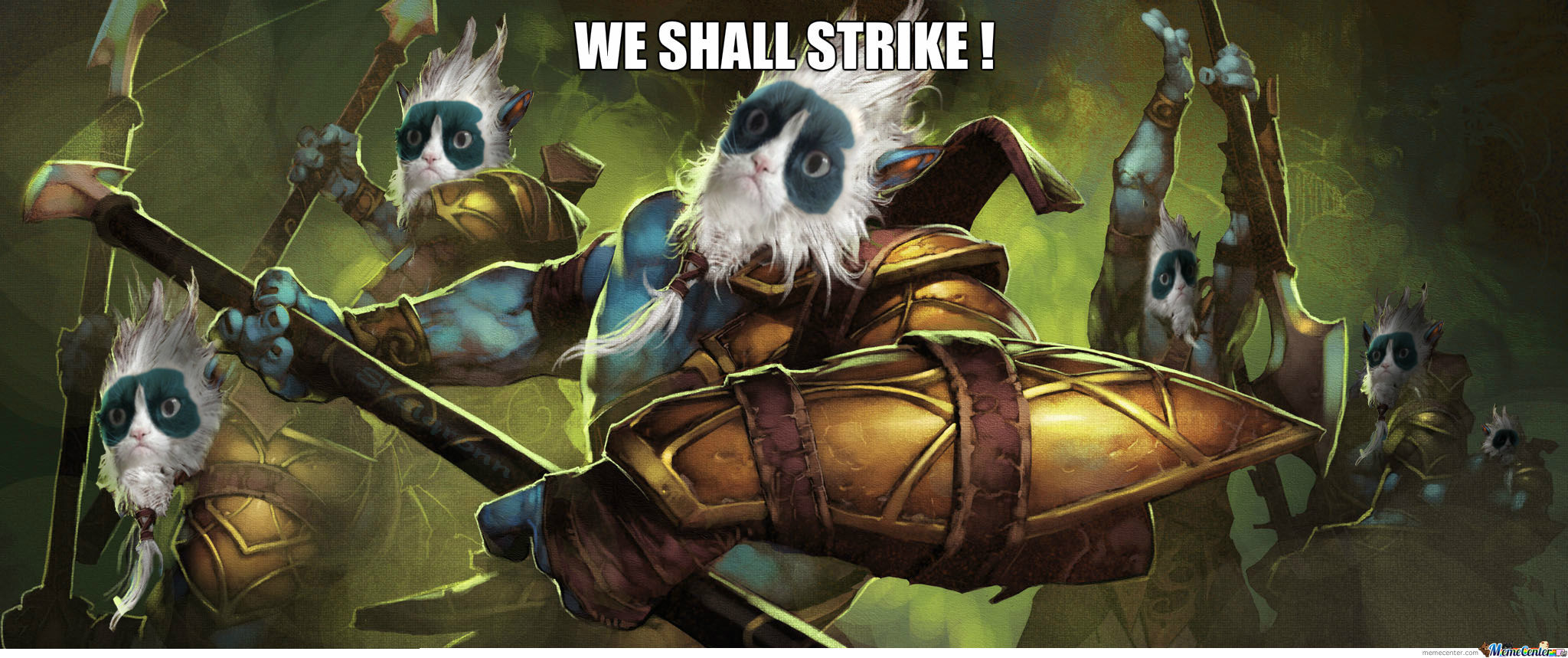 We Shall Strike !