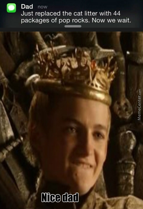 """We Should Use Jofrey Instead Of """"thats The Evilest...."""""""