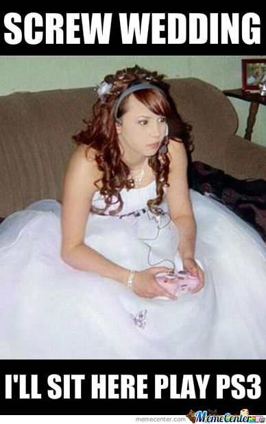 Wedding Vs Ps3