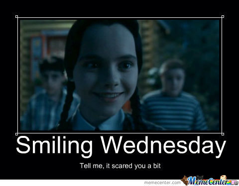 Wednesday Addams Knows How To Smile After All