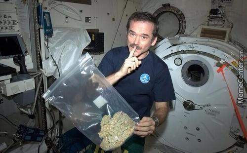 Weed Is Legal In Space.