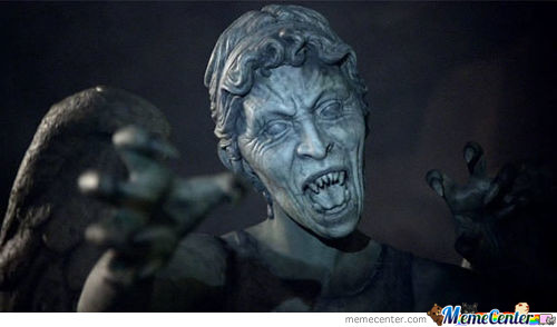 Weeping Angels: Reigning Champions Of Red Light Green Light