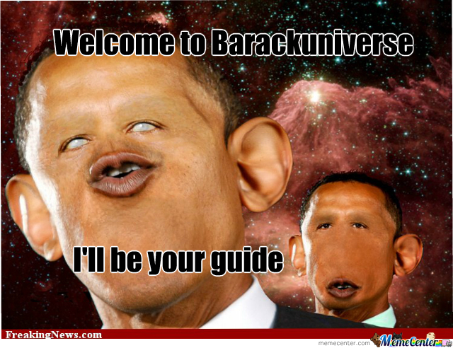 Welcome To Barackuniverse