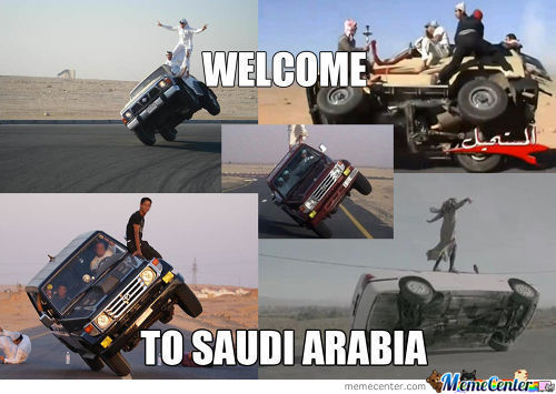 Welcome To Saudi Arabia