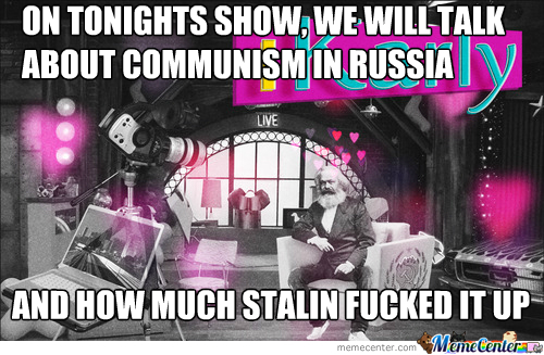 Welcome To The Marx Show