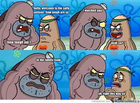 Welcome To The Salty Spitoon, How Tough Are You?