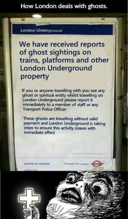 Well....london Underground Seems Fun !