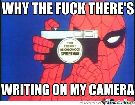Well Why Spiderman?