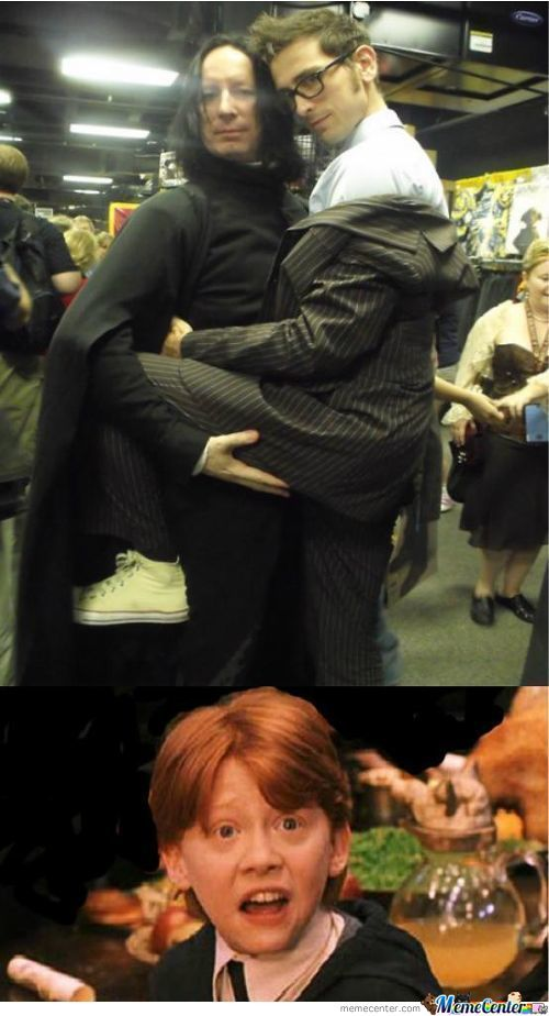 What Are You Doing Snape ???