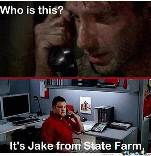 What Are You Wearing, Jake From State Farm?
