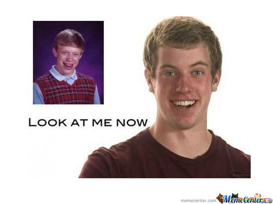 overly attached girlfriend meets bad luck brian What 10 famous internet meme stars look like in real life along with the overly-attached girlfriend bad luck brian has been featured on sites like.