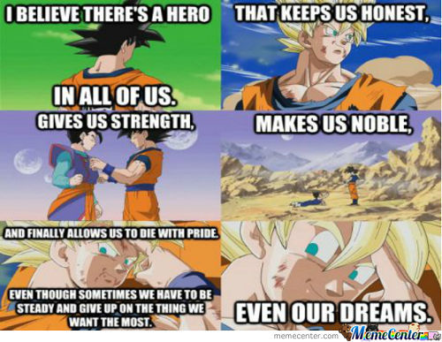 What Dbz Taught Me