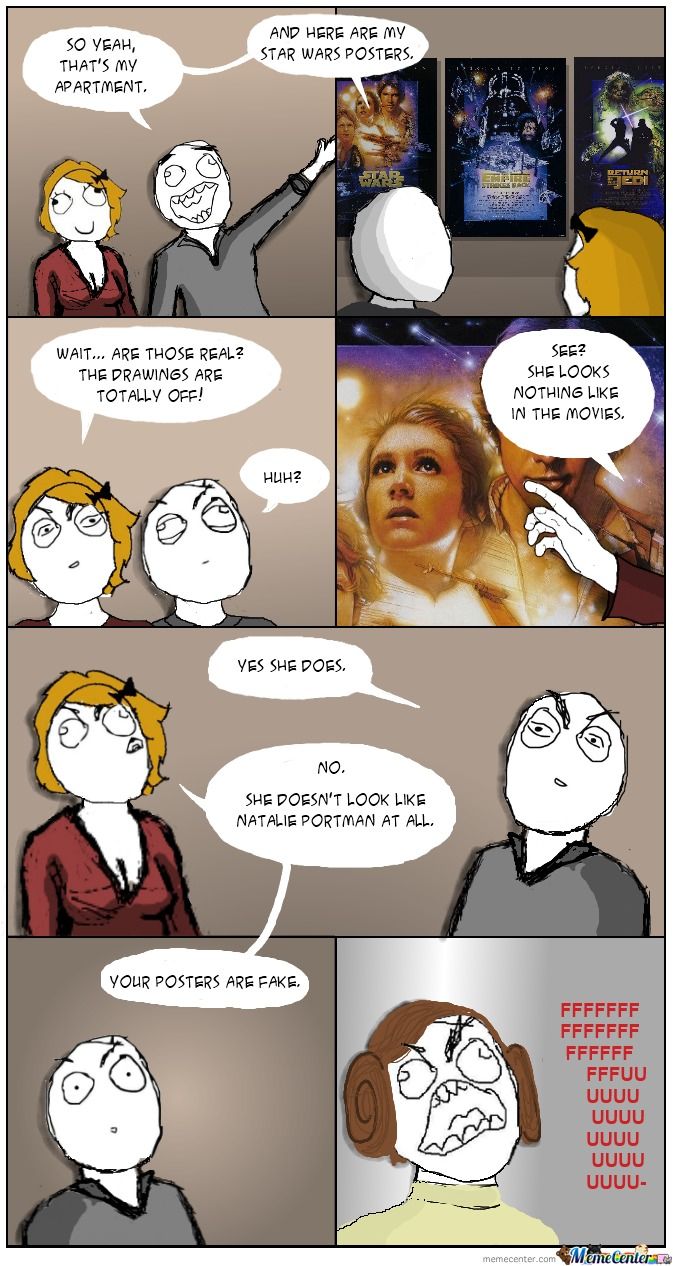 What Did U Say About Star Wars Bitch!?
