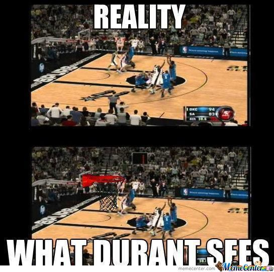 What Durant Sees