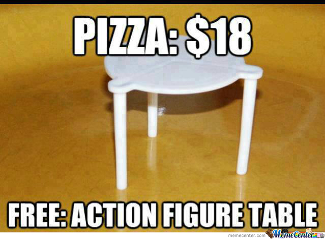 What?!? Free Table?!