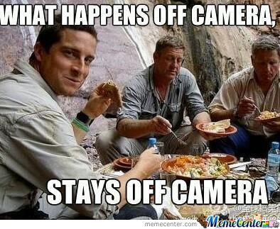 What Happens Off Camera, Stays Off Camera