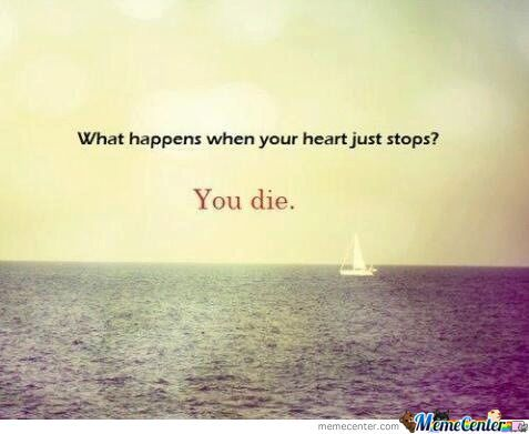 What Happens When Your Heart Just Stops?