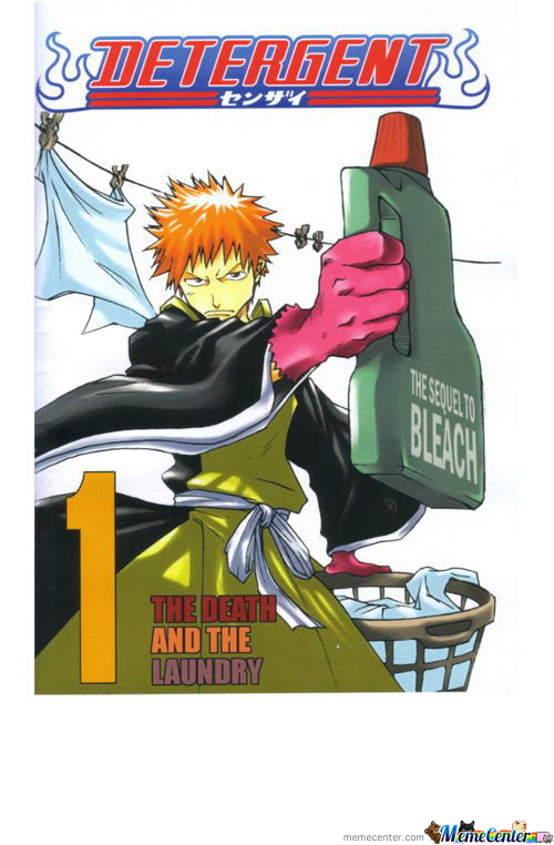 What I Saw (In My Mind) On The 1St Bleach Manga