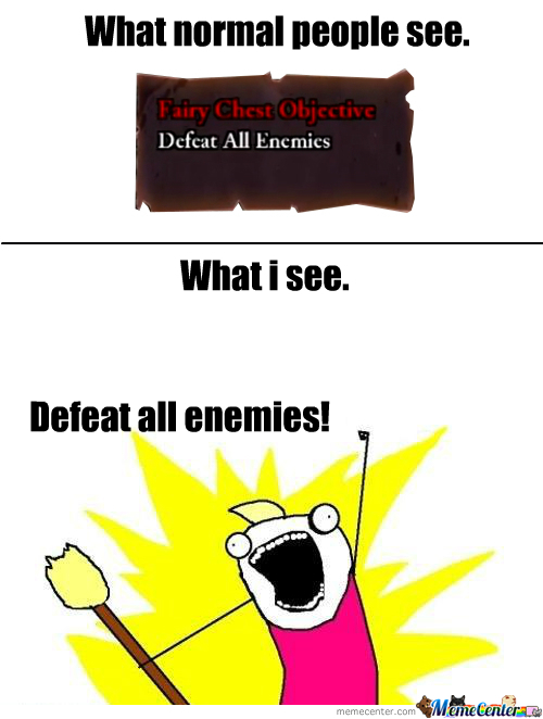 What I See When Playing Rogue Legacy.