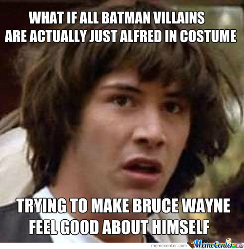 What If Alfred Is Actually The Joker?