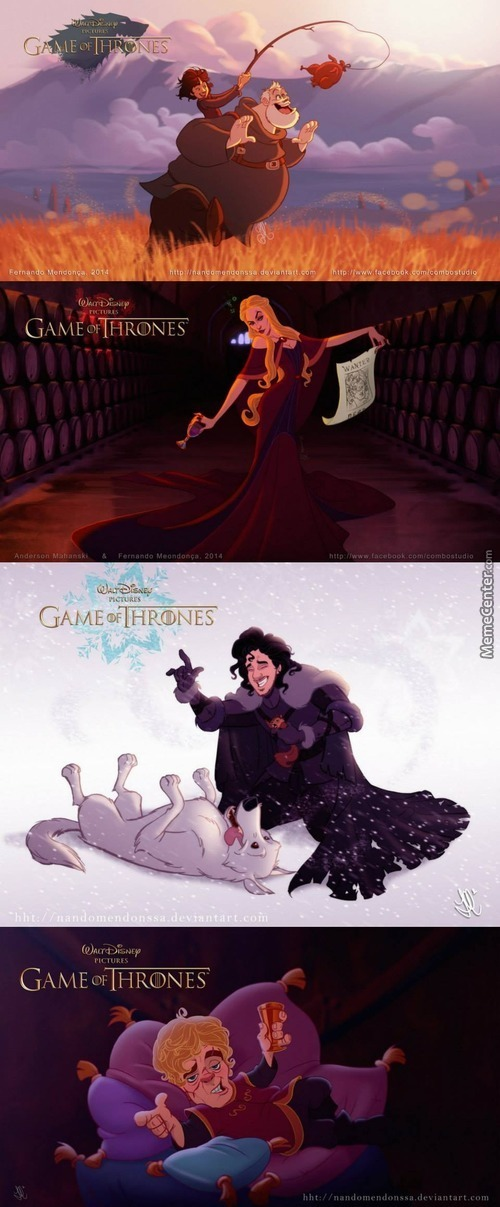 What If Disney Made Game Of Thrones?