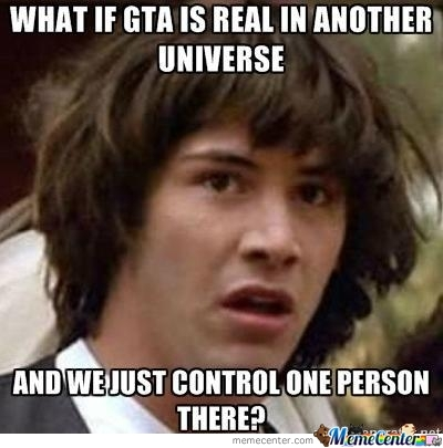 What If Gta Is Real In Another Universe