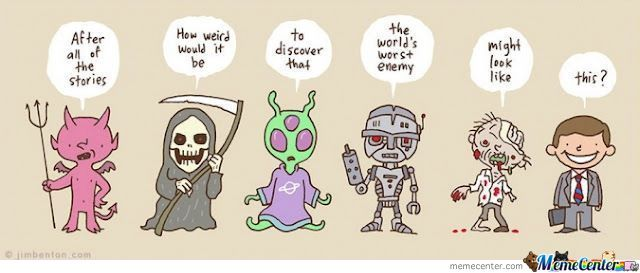 What If Humans Are The Bad Guy?