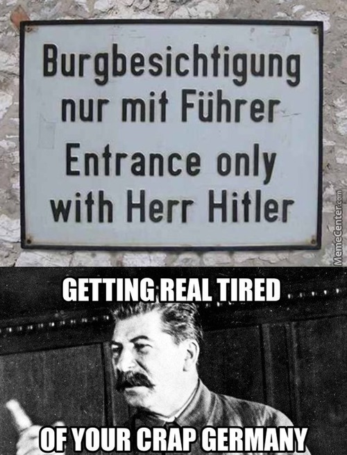 What If I Come With Her Hitler?