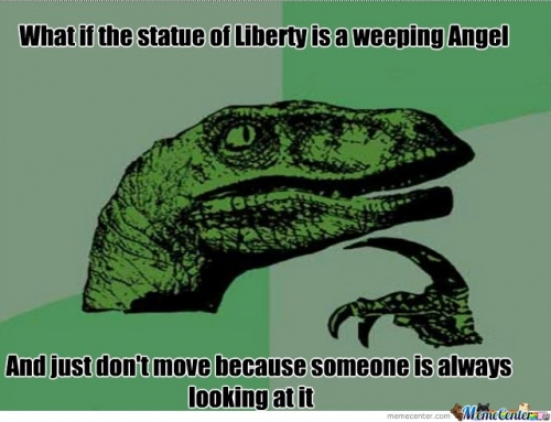 what if the statue of liberty......