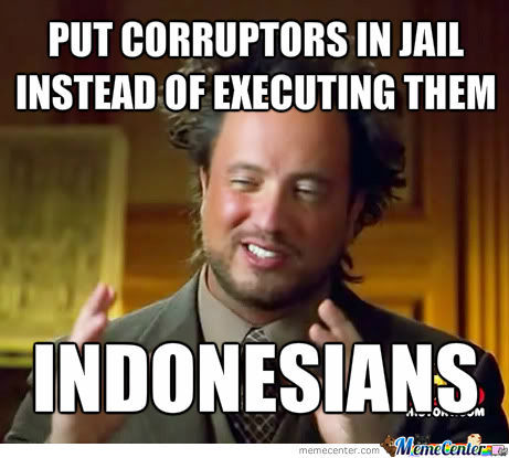 What Indonesians Do To Corruptors