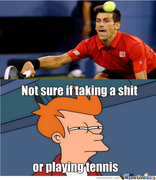 What Is Djokovic Doing?
