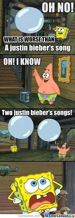 What Is Worse Than Justin Bieber's Song?