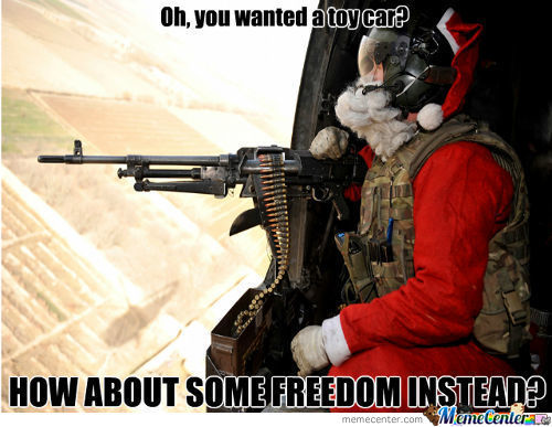 What Kind Of Christmas Would It Be Without Freedom?